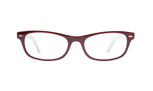 Lentes ópticos: Gianni Po 6069 Café / Verde Líneas gruesas   Incrustaciones de pedrería   Combinación de colores