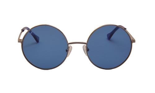 Lentes de sol: Vespa Solar 1205 Azul Protección UV | Filtro Grado 3 | Armazón de metal