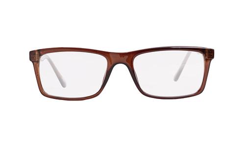 Lentes ópticos: Academic P9027 Café Dark Ligero | Charnela metálica | Color Café