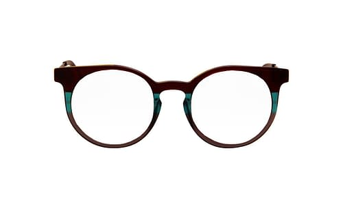 Lentes ópticos: Vespa Óptico 1201 Verde / Negro Micas con tinte degradado   Protección UV   Filtro Grado 3   Hecho de Acetato y Metal