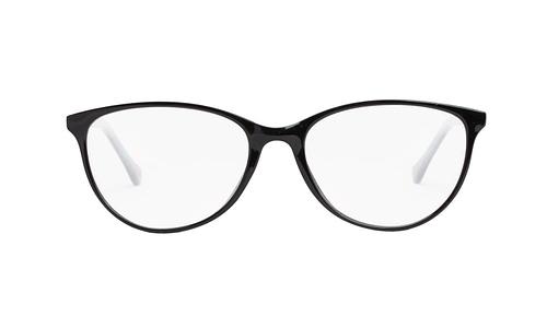 Lentes ópticos: Academic P8014 Negro Ligero | Color negro degradado | Varillas finas y delgadas