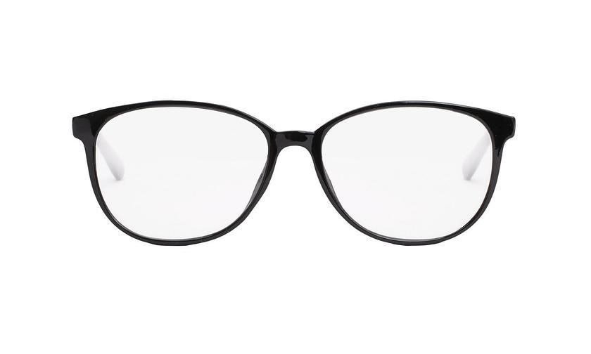 Lentes ópticos: Academic P9016 Negro Ligero | Charnela metálica | Color Negro