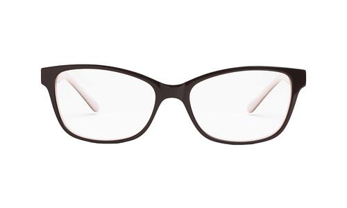 Lentes ópticos: Gianni Po 2610 Café Varilla Flex | Varillas con pedrería incrustada | Ligeros