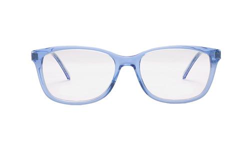 Lentes ópticos: DiGianni  011 Azul Ligero   Color traslúcido  