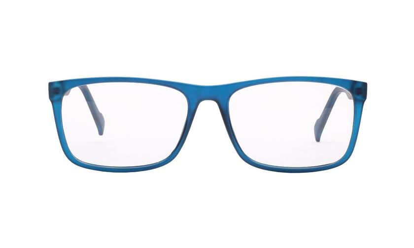 Lentes ópticos: Academic 8029 Azul Acabado Mate   Ligero   Ideal para deportes