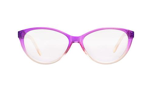 Lentes ópticos: Academic P9024 Rosa / Cristal Ligero | Color rosa desvanecido | Charnela Metálica