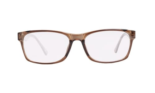 Lentes ópticos: Academic P9025 Café Clear Ligero | Varilla Flex | Color Café Claro