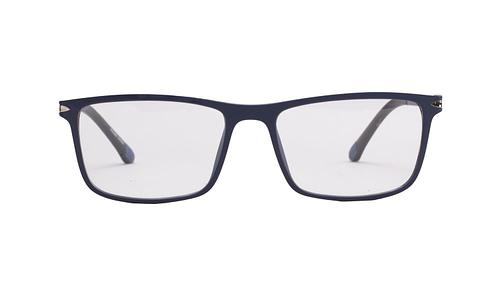 Lentes ópticos | Click-On: Da Luce 318 Azul Ligero | Anti-Derrapante en terminales | Accesorio solar magnético Click-On polarizado