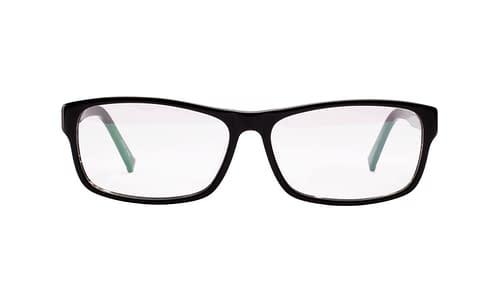 Lentes ópticos: Gianni PO 2617 Negro Tamaño amplio | Detalle en las terminales | Acabado Glossy