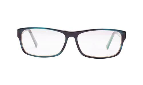 Lentes ópticos: Gianni PO 2617 Azul Tamaño amplio | Detalle en las terminales | Acabado Glossy