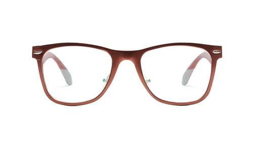 Lentes ópticos: Horus 2363 Bronce Hecho de Aluminio | Plaquetas de Silicón | Varilla Flex