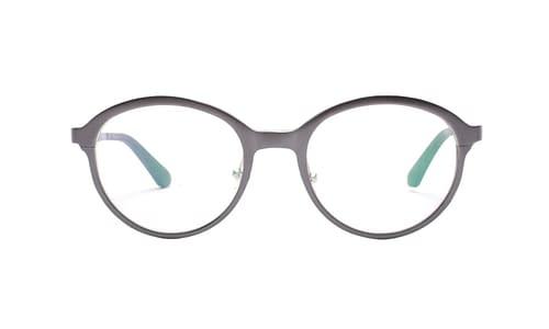 Lentes ópticos: Horus 2906 Grafito Hecho de Aluminio | Plaquetas de Silicón | Varilla Flex