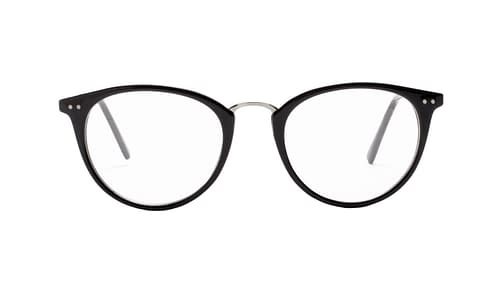 Lentes ópticos: Main Street 069 Negro Combinación de Materiales | Remaches decorativos | Ligero