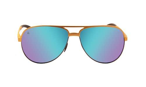 Lentes de sol: Occhiali Solar 2287 Micas de Policarbonato | Micas Polarizadas | Micas Espejeadas | Protección UV400 | Anti-Derrapante en las Terminales | Varilla Flex