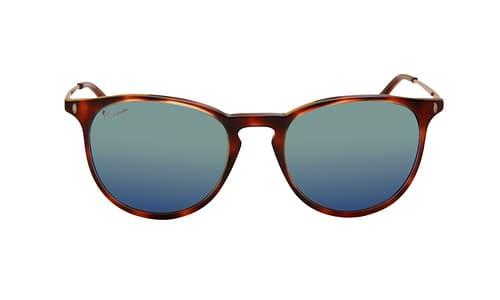 Lentes de sol: Vespa Solar 12PF Carey Color Carey | Protección UV | Filtro Grado 3 | Micas Espejeadas | Hecho de Acetato y Metal