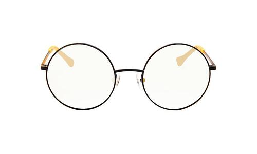 Lentes ópticos: Vespa Óptico 1205 Amarillo Micas Espejeadas | Protección UV | Filtro Grado 3 | Armazón de metal