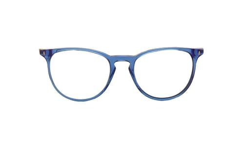 Lentes ópticos: Vespa Óptico 12PF Azul Protección UV | Filtro Grado 3 | Hecho de Acetato y Metal