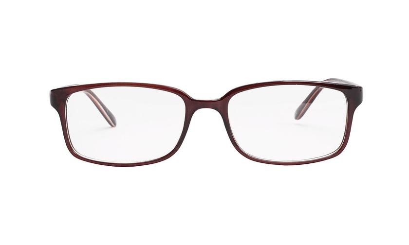 Lentes ópticos: Academic P8006 Café Dark Súper ligero | Color café oscuro | Varillas finas y delgadas