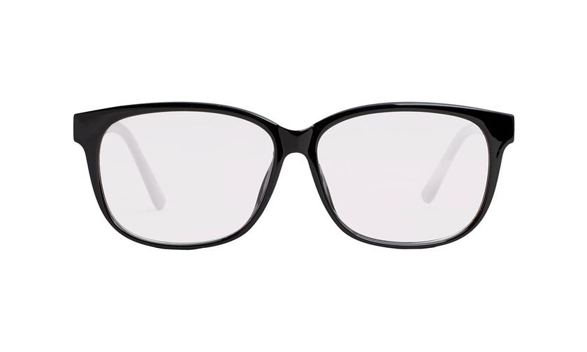 Lentes ópticos: Academic P9011 Negro Ligero | Charnela metálica | Color Negro