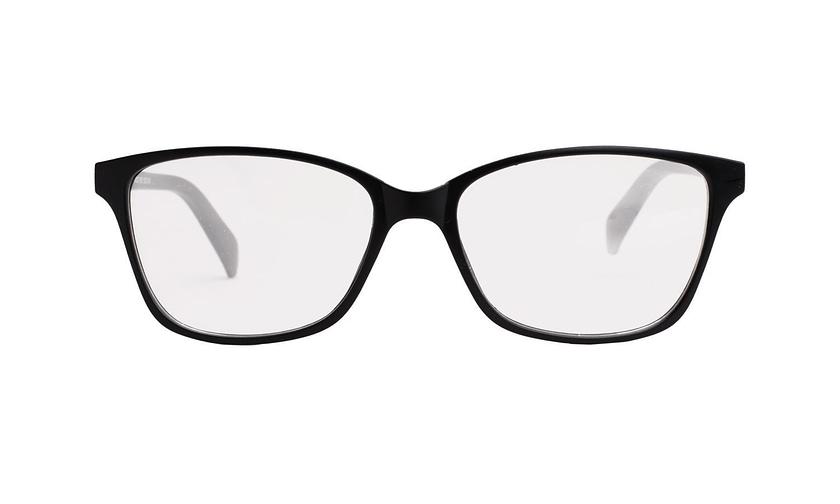 Lentes ópticos: Academic P9021 Negro Ligero | Color negro | Varillas con textura