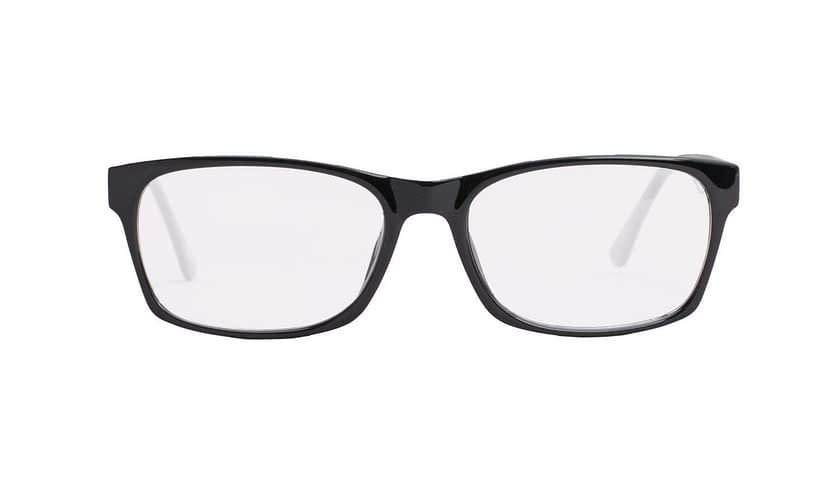 Lentes ópticos: Academic P9025 Negro Ligero | Varilla Flex | Color Negro